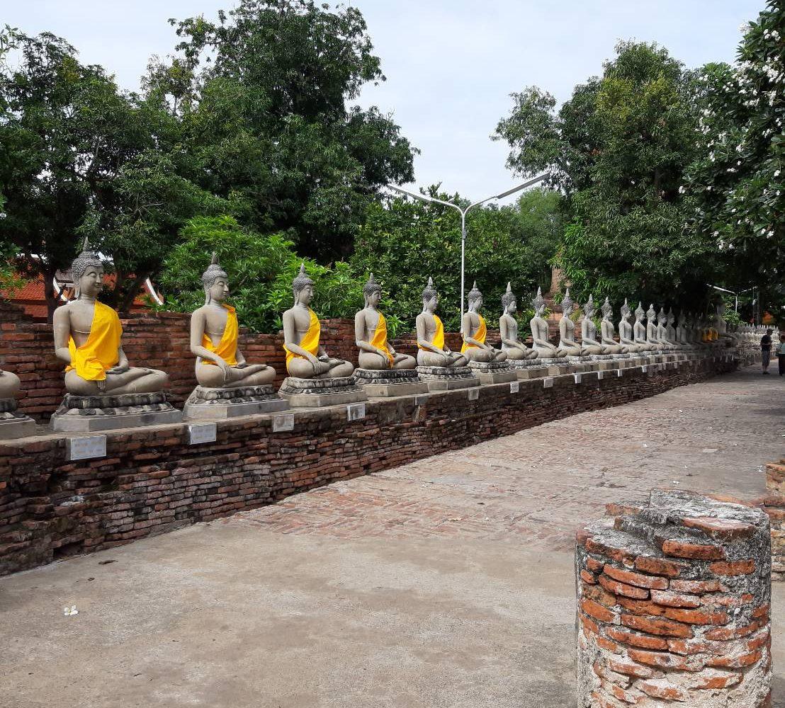Wat YaiChaiMongKol Ayutthaya