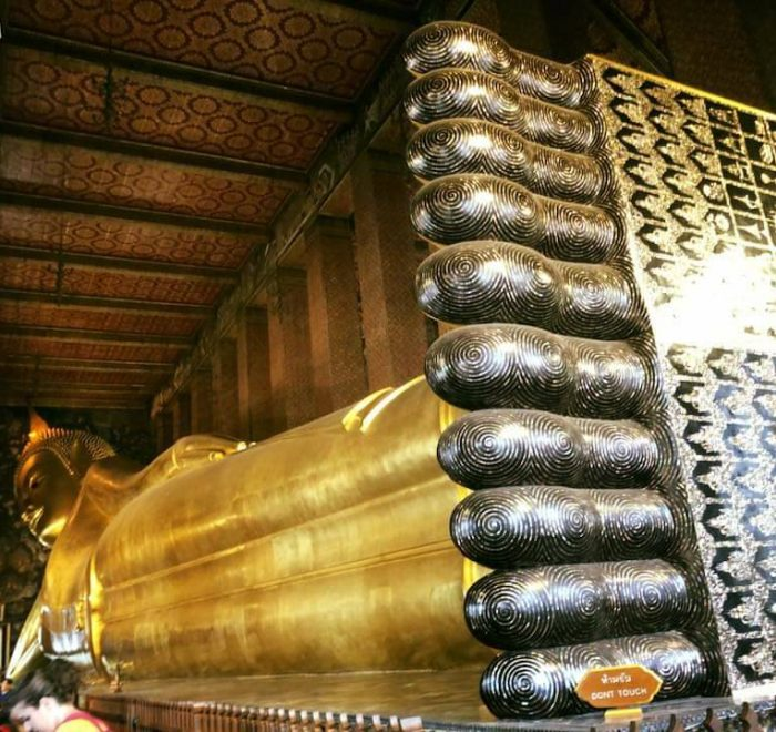 RecliningBuddha at Wat Pho